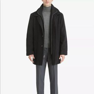 Calvin Klein Men's Wool Blend Coat